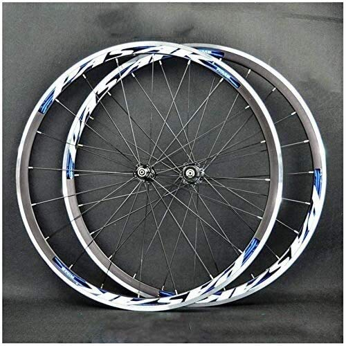 Ruedas De Bicicleta,llantas bicicleta Bicicleta de carretera de ruedas de la rueda delantera de la bici 700C rueda trasera 30 mm de doble pared bicicleta rueda de aleación de ruedas de liberación rápi