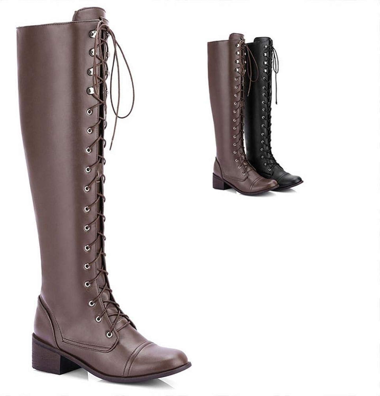hot sale online 788d5 38ddc Ofenrohr Mode Stiefel Warme Winter Langen Frauen Mit Flach ...