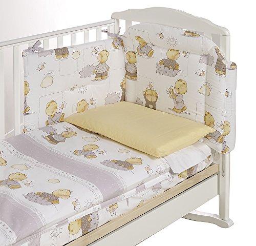 Italbaby 120.0003-4 Parure de lit complète pour lit bébé