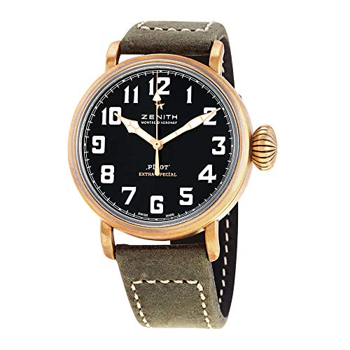 Zenith Pilot 29.1940.679/21.C800 - Reloj de Pulsera para Hombre, Color Bronce