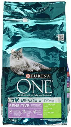 One Sensitive Katzenfutter Truthahn, 1.5 kg