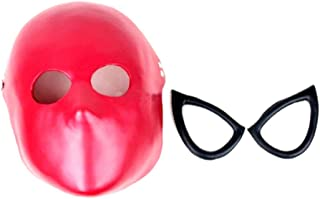 Spiderman Faceshell Mask and Lens Superheroes Costume Prop Spider Man