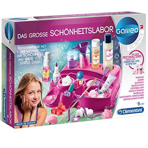 Das große Schönheitslabor mit zahlreichem Zubehör - Galileo Experimentierkasten - Kosmetik selber machen - Parfums Seifen Badeschaum Lippenbalsam - für Kinder - Geschenk Spielzeug Set - ab 8 Jahren