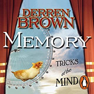 Memory     Tricks of the Mind              By:                                                                                                                                 Derren Brown                               Narrated by:                                                                                                                                 Derren Brown                      Length: 40 mins     141 ratings     Overall 4.5