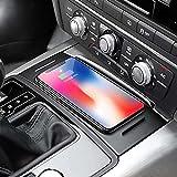 DPG Coche Qi Cargador De Teléfono De Carga Inalámbrica Soporte De Teléfono Placa De Puerta De Carga Accesorios para Audi A6 C7 Rs6 A7 2012-2018