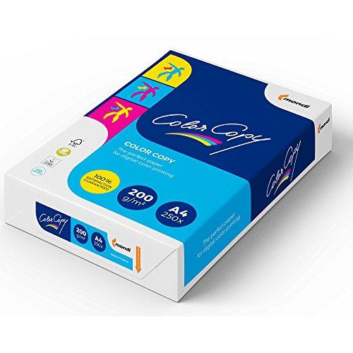 Color Copy CCA4200 - Paquete 250 hojas de papel, 200 g/m², A4