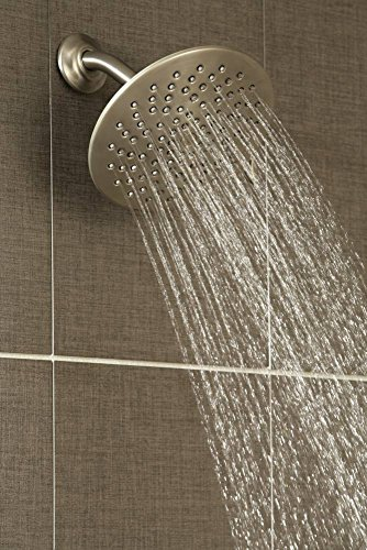 Moen S6320 Velocity Two-Function Rainshower 8-Inch Showerhead with Immersion Technology, Chrome
