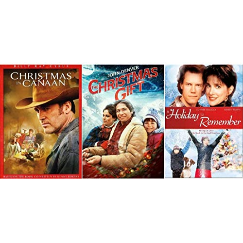 Christmas in Canaan / Christmas Gift / Holiday to Remember DVD Set