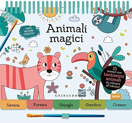Animali magici. Ediz. a colori. Ediz. a spirale. Con gadget