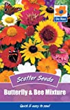Butterfly & Bee Mixture 250 Seeds Per Pack