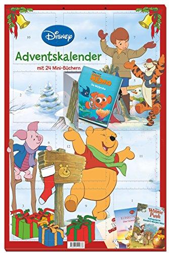 Disney Minibuch-Adventskalender 2016: 24 tolle Minibücher zur Adventszeit (Disney Klassiker)