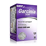 Biogenetic Laboratories Garcinia Trim Natural Fat-Loss Support and Appetite Reduction with Garcinia Cambogia - 120 Capsules