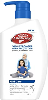 Lifebuoy Anti Bacterial Body Wash Mild Care, 500ml