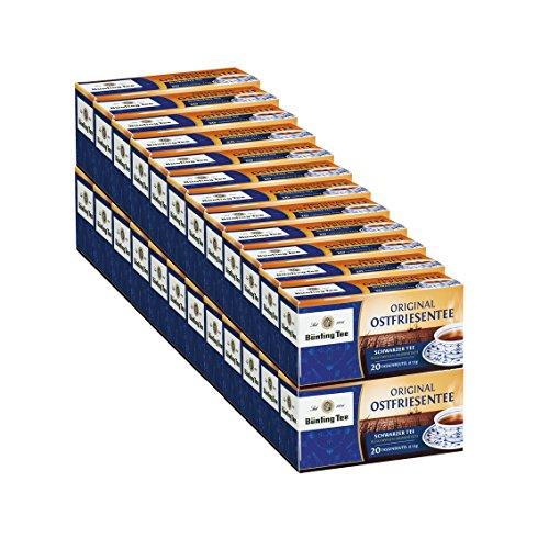 Bünting Tee Original Ostfriesentee, 20 Tassenbeutel, 24er Pack