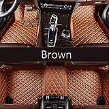 AXYP Car Alfombrillas, para Infiniti All Models Ex25 Fx35 M25 M35 M37 M56 Qx50 Qx60 Qx70 G25 Jx35 Impermeable y Antideslizante Floor Mats Cobertur Liners Proteger Intemperie,Coche Decorar Accesorios