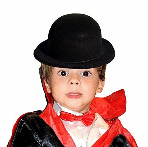 El Carnaval Bomb hoed Flocado – zwart voor kinderen
