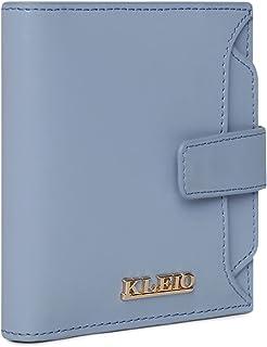 KLEIO Vegan Leather Multi Slot Clutch Wallet for Women/Girls (HO5015KL-TU) (Turquoise)