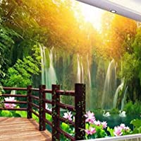 Bosakp 大カスタム壁紙Hd風景壁画リビングルームベッドルームテレビ背景壁画3D風景 360X250Cm