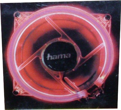 Hama kaltlichtkathoden de Ventilador; Rojo; Anillo de kaltlichtkathode; para Carcasa de PC