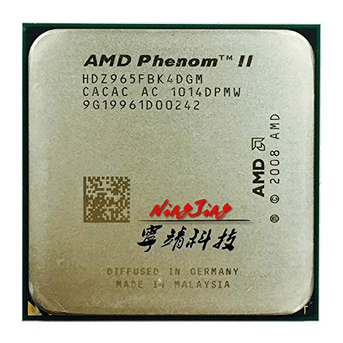 Phenom II X4 965 3.4 GHz Quad-Core CPU Processor HDZ965FBK4DGM Socket AM3