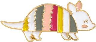 Oce180anYLV Creativo Spilla Pin Cute Cartoon Rainbow Mouse Smalto Distintivo Bavero Spilla Pin Vestiti Gioielli Decor