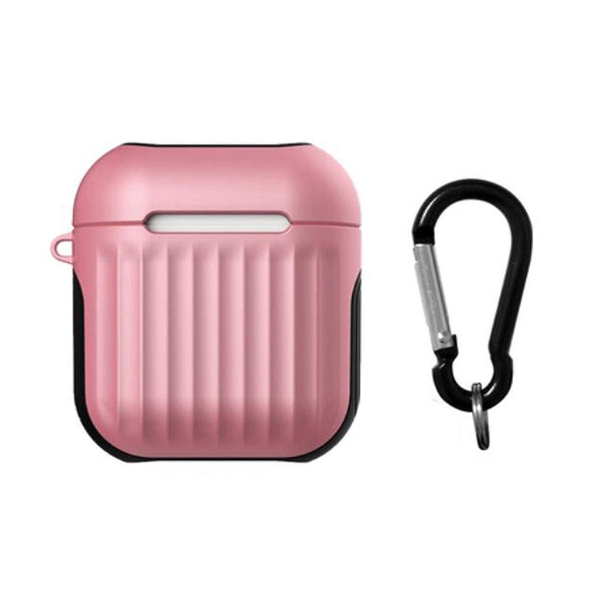 温度計みすぼらしいキャップJielongtongxun001 ヘッドフォン、イヤホン、Bluetoothケース、防塵、快適でシンプルな単色、プレゼント、カラビナ、ピンク/パープル/ホワイト/ブラック 美しい (Color : Pink)