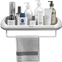Suction Cup Bathroom Towel Storage Rack Bathroom Kitchen Tissue Storage Shower Shelf Holder Rack Organizer