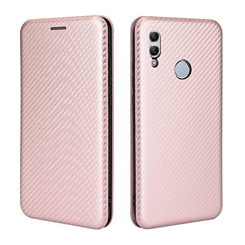 Tapa de la Caja de la Caja del teléfono para Huawei P Smart 2019 Case, para Huawei Honor 10 Lite/Nova Lite3 Case, Fibra de Carbono de Lujo PU y TPU Caso Híbrido PROTECTORIA Cubierta AFRUEBLE Funda p