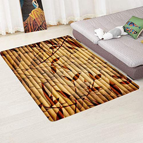 zpbzambm Modern Rugs,Area Rug,Soft Touch Short Pile Carpet For Living Room And Bedroom, 3D Printing Leaf,Easy To Clean Without Falling Off,Size :160X230Cm