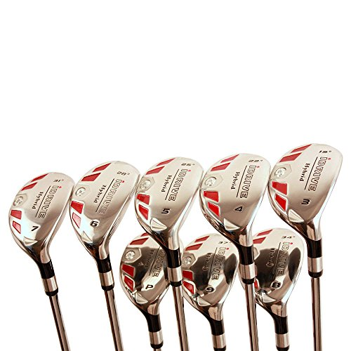 iDrive Hybrids Senior Men's Golf All Complete Full Set, which Includes: #3, 4, 5, 6, 7, 8, 9, PW...