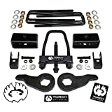 """TORCH 3' Front 2"""" Rear LIFT Kit For 1999-2007 Chevy Silverado GMC Sierra 1500 4X4 4WD Tool and Shock Extenders"""