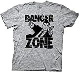Ripple Junction Archer Danger Zone Adult T-Shirt Medium Athletic Heather