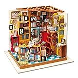 Somedays Puppenhaus Bausatz Holz Modell Set Möbliert Zimmer, Selbermachen Basteln Konstruktion Bau...