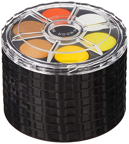 Koh-I-Noor Watercolor Wheel Stack Pack (8 Trays x 6 Colors)