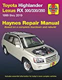 HM Toyota HighLander Lexus RX 300 330 350 1999-2019: 1999 Thru 2019 (Haynes Automotive)
