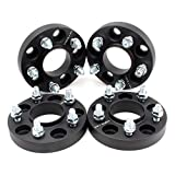 ZY WHEEL 5x115 5x4.53 Wheel Spacers Compatible for Chevrolet Equinox 2005-2009/2018-2020 Malibu 1997-2003/2016-2020 Buick Cascada 2016-2019 Lacrosse 17-19 with M12x1.5 Studs 70.3 mm Bore 1 inch 4pcs