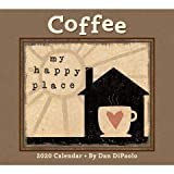 2020 Coffee Art work by Dan DiPaolo Wall Calendar