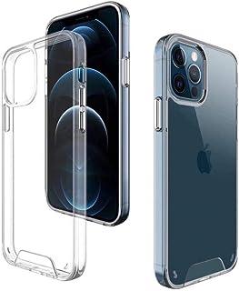 Le Petit Français® - Carcasa para iPhone 12 Pro Max 6.7 2020, trasera transparente, funda antiarañazos, carcasa delgada an...
