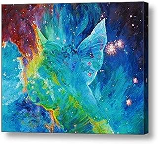 "Galactic Angel - 15.88""H x 20""W Canvas Print"