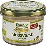 ÖKOLAND Bio Mettwurst gekocht Gourmet-Qualität