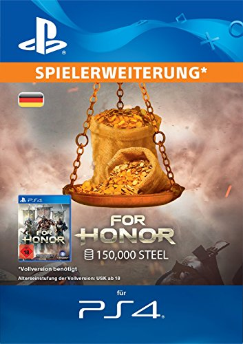 FOR HONOR: 150000 STAHL-Paket [PS4 Download Code - deutsches Konto]