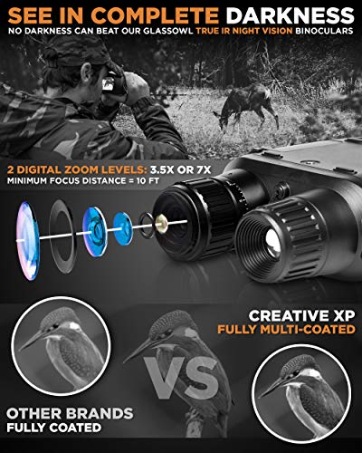 Clear sight with these awesome Night Vision Binoculars 1