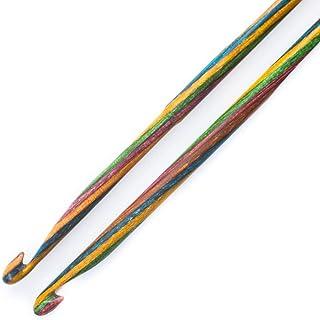 KnitPro KP20727 Crochet Tricot de Symphonie, Double Fin, Bois, Multicolore, 22 x 0,6 x 6,5 cm