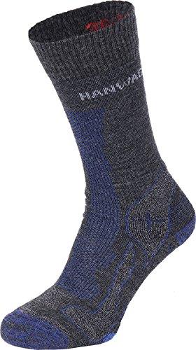 Hanwag Trek Merino Socks - Anthracite/Alpin