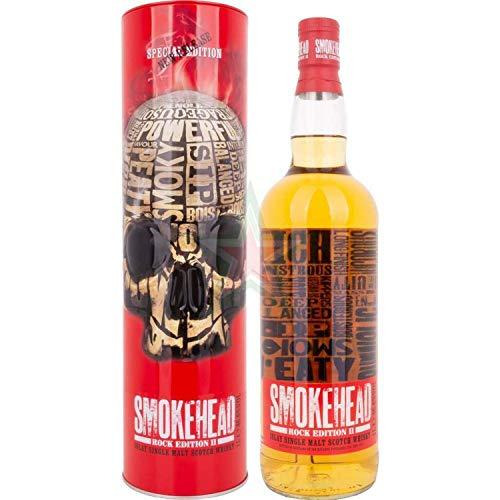 Smokehead Rock Edition II + GB 1000ml 46,6% Vol.