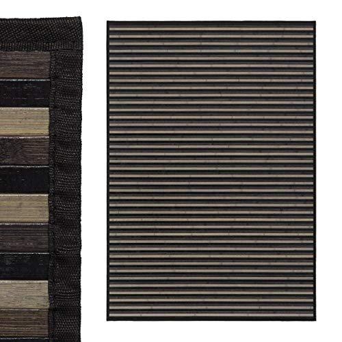 EURASIA® Alfombras de Salón Bambú Natural - 8 Colores - Base Antiadherente...