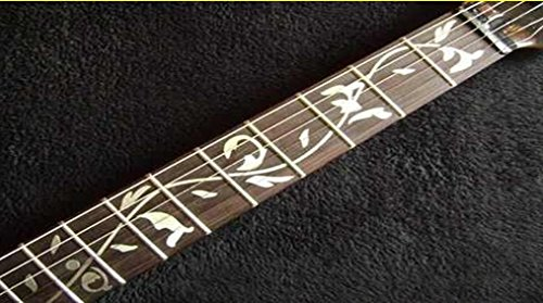 Tree Of Life Fret Markers Stickers Inlay From Guitar & Bass Pegatinas Guitarra & Bajo … (plata)