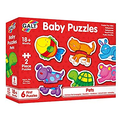 Galt Toys Puzles Infantiles-Animalitos, Multicolor (1003034) , color/modelo surtido de Galt Toys