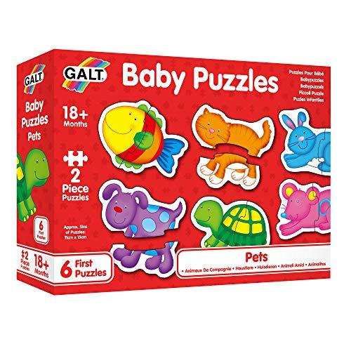 Galt 26458 Baby puzzel, huisdieren