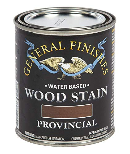 General Finishes Water Based Wood Stain, 1 Pint, Provincial